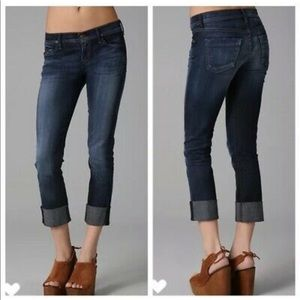 Citizens of Humanity cropped straight leg jean